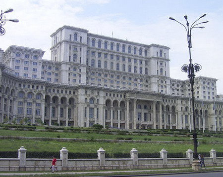 Bükreş Parlemento Sarayı