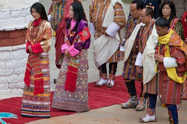 Bhutan Geleneksel Kıyafetleri