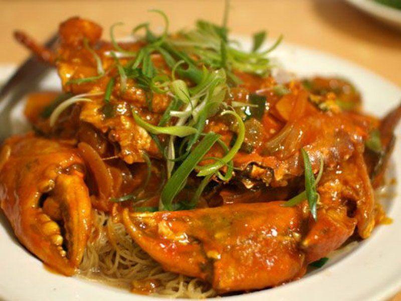 Tayland Yengeç Yemeği