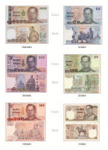 thai baht kağıt