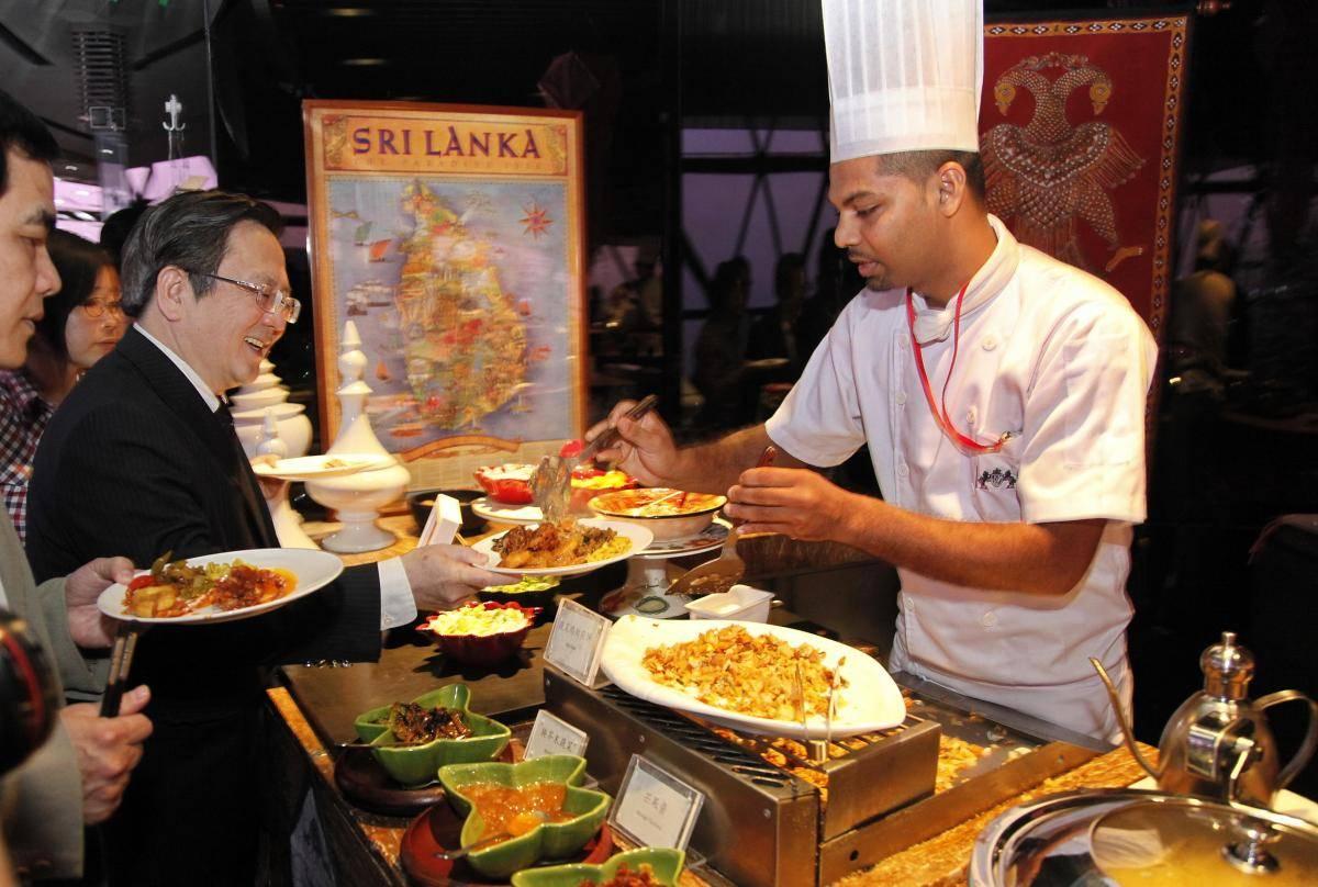 sri lanka yemek kültürü