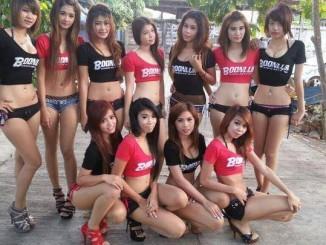Tayland Pattaya gece hayatı 2015