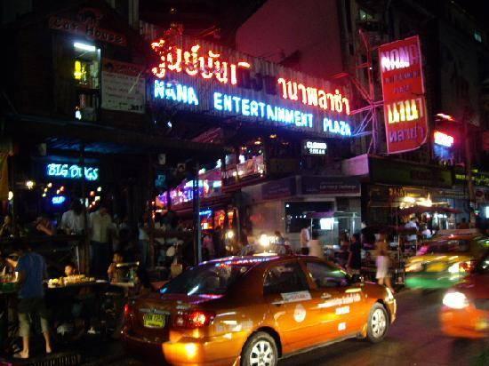 Bangkok geceleri