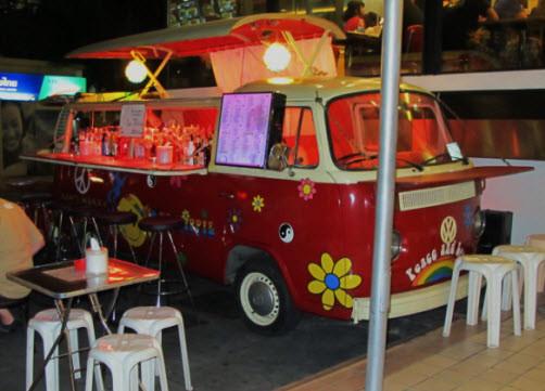 Bangkok sokak bar
