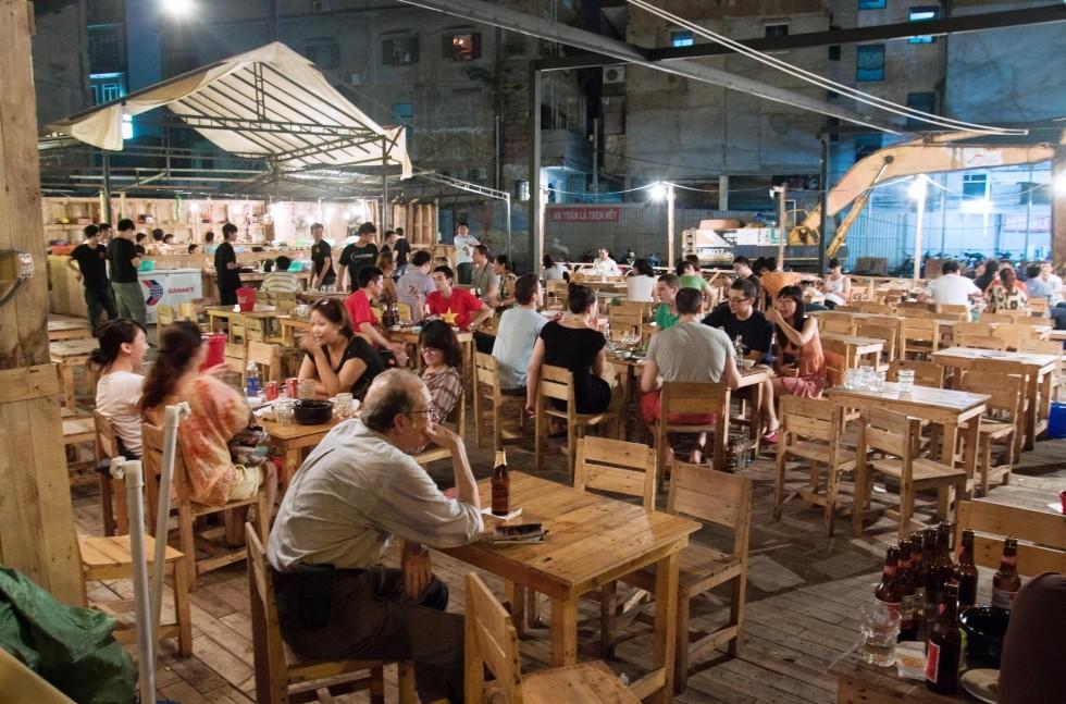 Hanoi gece hayati