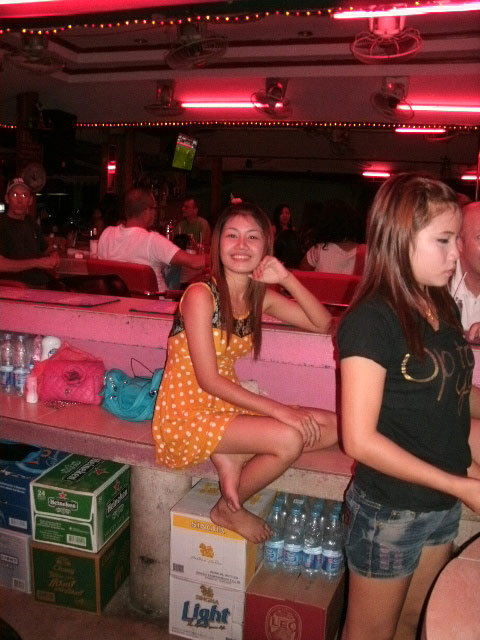 Pattaya beer bar