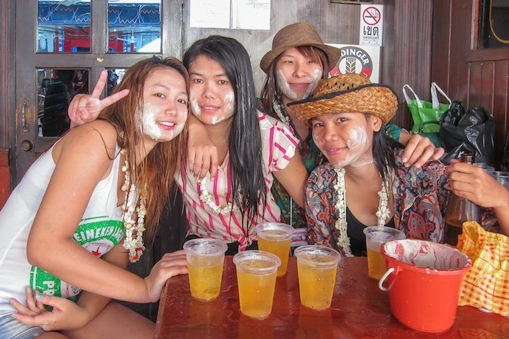 pattaya songkran 2015