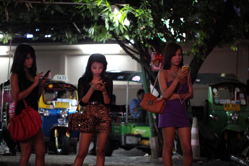 tayland sokak kızları