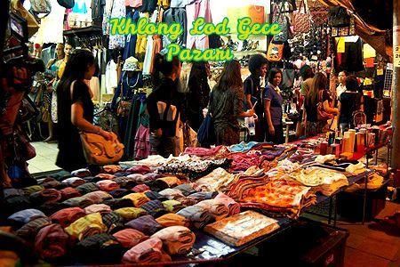 Bangkok Gece alışveriş