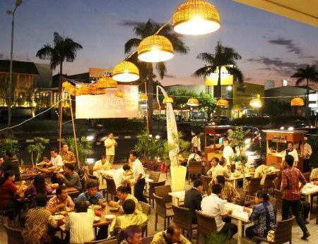 Endonezya Bali gece pazarı