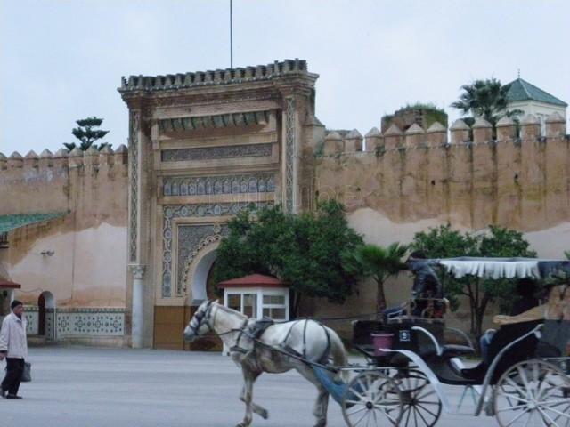 Fas Marakeş dar el makhzen sarayı