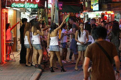 Pattaya walking street kızları