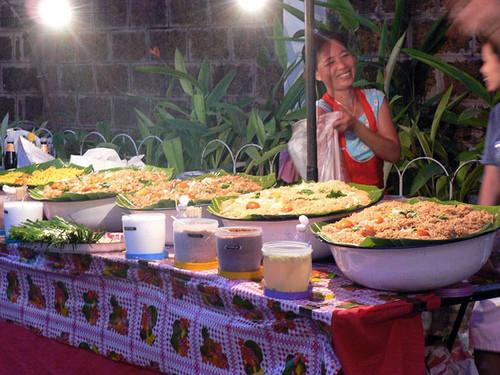 Tayland sokak satıcıları