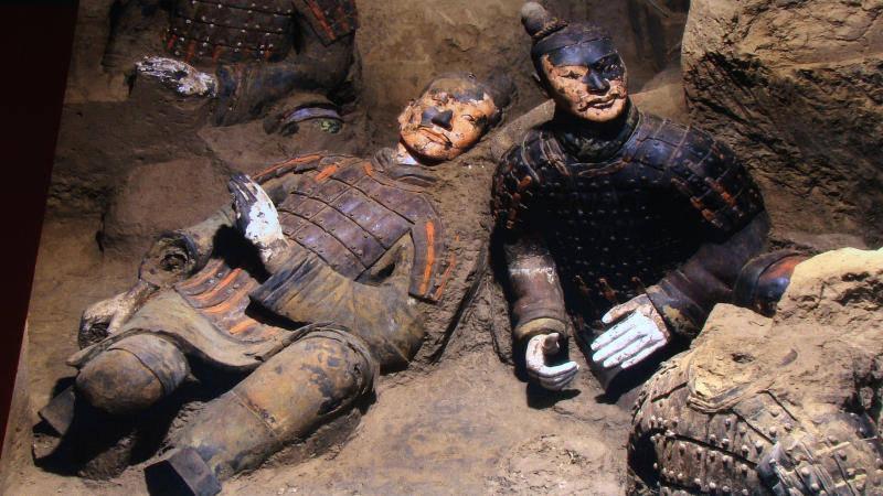 Çin Terrakotta heykelleri