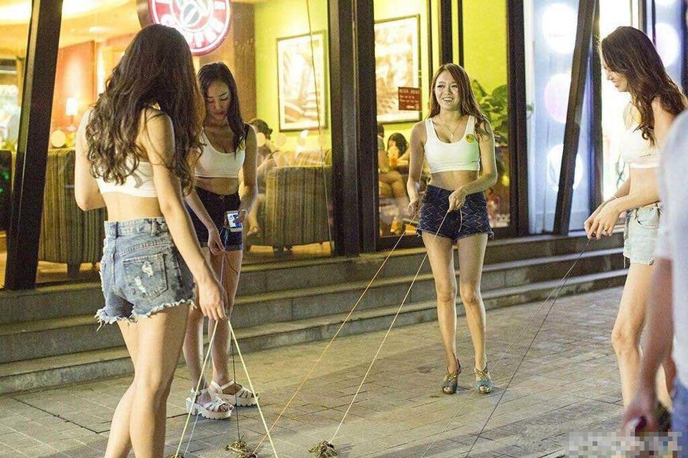 Çinli kızlar