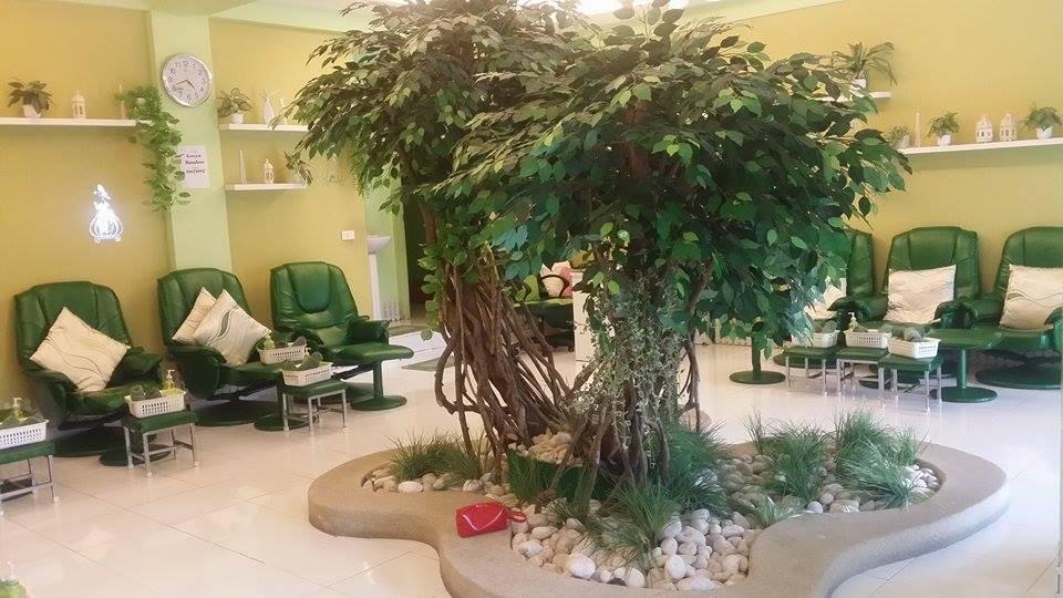 Green Bamboo Masaj Salaonu