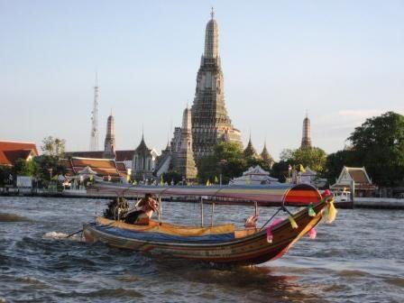 Bangkok nehir turu