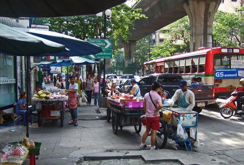 Bangkok sokakları