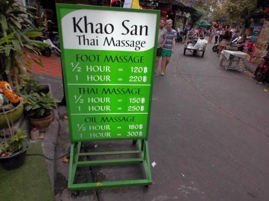 Khou san Road Bangkok