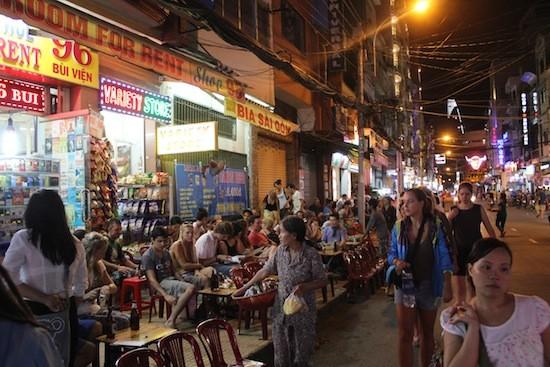 Saigon gece hayatı
