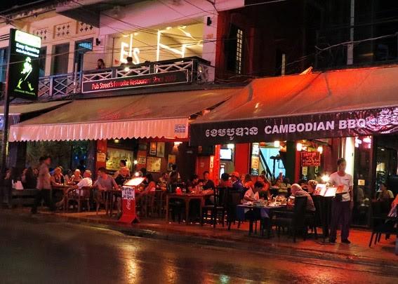 Kamboçya gece hayatı