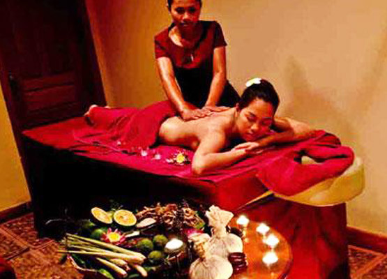Kamboçya masaj salonu